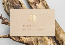 Evolve Day Spa Cards